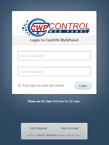 How to install CentOS Web Panel - PlotHost